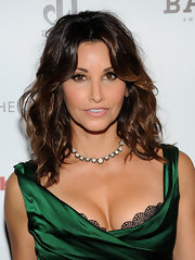 Gina Gershon styled her hair in sexy waves with a center part for the screening of 'Killer Joe.'