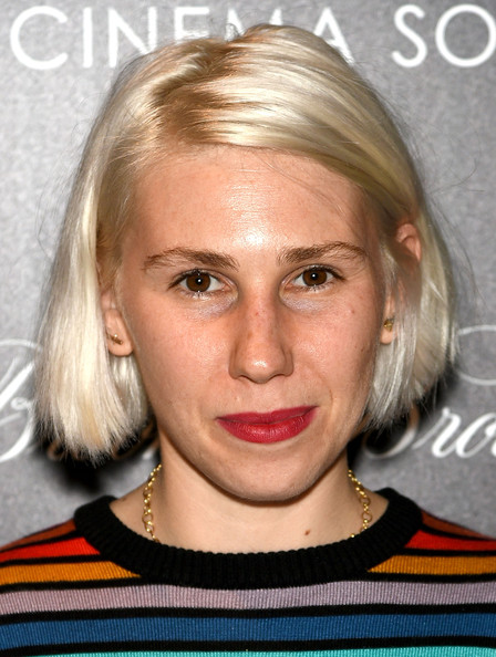 More Pics of Zosia Mamet Bob (1 of 3) - Zosia Mamet Lookbook - StyleBistro [cinema society and brooks brothers host a screening of sony pictures classics,hair,face,blond,hairstyle,eyebrow,chin,lip,head,cheek,forehead,arrivals,zosia mamet,whiplash,ipaley center for media,new york city,sony pictures classics,the cinema society,brooks brothers,screening]