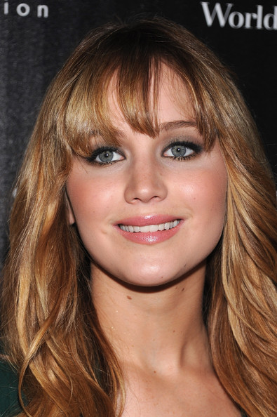 More Pics of Jennifer Lawrence Smoky Eyes (4 of 36) - Jennifer Lawrence Lookbook - StyleBistro