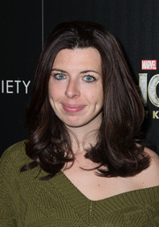 Heather Matarazzo styled her hair with soft, high-volume layers for the screening of 'Thor: The Dark World' in NYC.