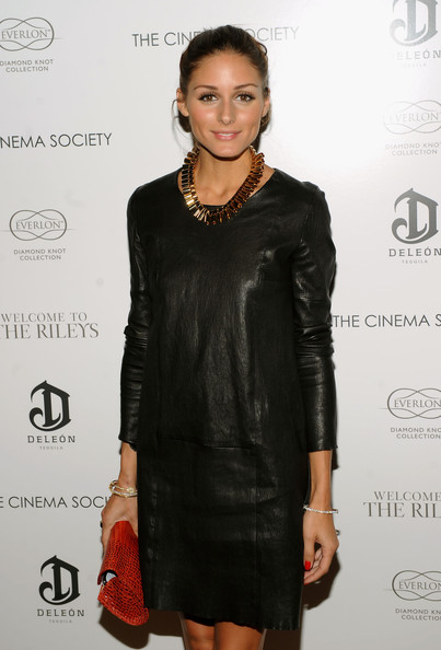 More Pics of Olivia Palermo Bronze Statement Necklace (1 of 5) - Olivia Palermo Lookbook - StyleBistro