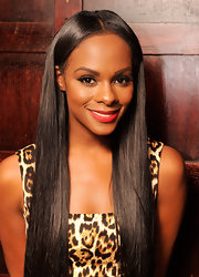 Tika Sumpter's long straight hair looked beautiful enough for a shampoo ad.