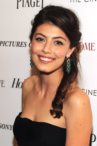 More Pics of Alessandra Mastronardi Strapless Dress (3 of 3) - Alessandra Mastronardi Lookbook - StyleBistro