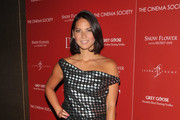 Actress Olivia Munn attends the Cinema Society with Ivanka Trump Jewelry & Diane Von Furstenberg screening of
