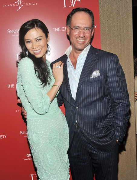 More Pics of Wendi Deng Murdoch Long Curls (1 of 5) - Wendi Deng Murdoch Lookbook - StyleBistro
