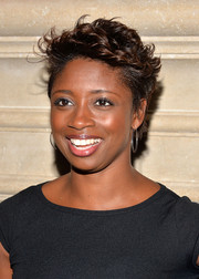 Montego Glover wore her hair in a fauxhawk at the 'Kill Your Darlings' after-party.