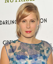 Tara Subkoff glazed her lips with a muted warm raspberry lip color for a screening of 'Darling Companion.'