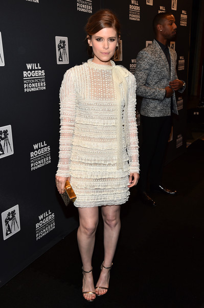 Kate Mara at the Will Rogers 'Pioneer of the Year' Dinner
