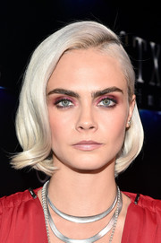 This ice-blonde bob Cara Delevingne wore to CinemaCon 2017 was a perfect marriage of vintage and futuristic!