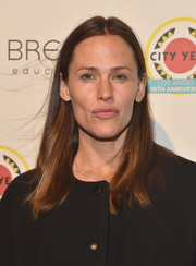 Jennifer Garner attended the City Year Los Angeles Spring Break wearing a casual straight hairstyle.
