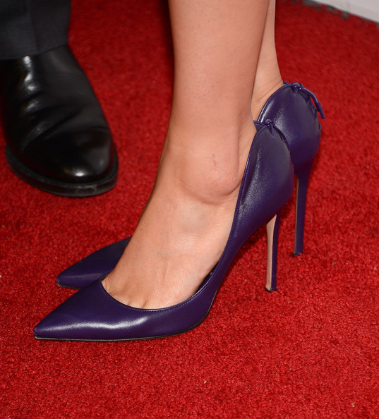 Clare Grant Pumps [the story of luke,high heels,footwear,leg,human leg,red,shoe,court shoe,basic pump,ankle,foot,clare grant,premiere - arrivals,los angeles,beverly hills,california,laemmle music hall,premiere]