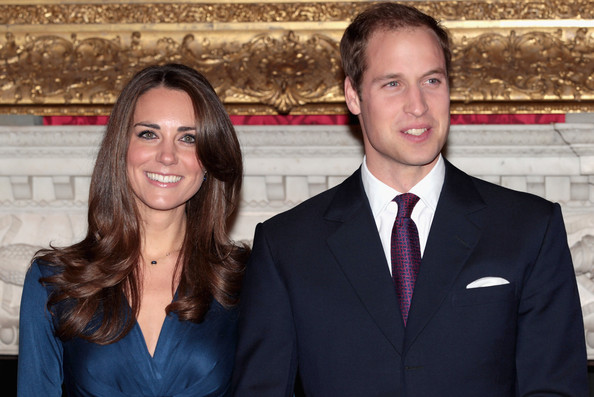 Kate+Middleton in Clarence House Announce The Engagement Of Prince William To Kate Middleton