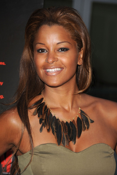 Claudia Jordan Gold Collar Necklace