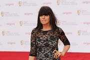 Claudia Winkleman Cocktail Dress