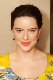 Michelle Ryan attended a screening of 'Cleanskin' wearing a soft coral shade of lipgloss.