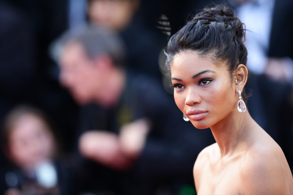 More Pics of Chanel Iman Twisted Bun (1 of 13) - Chanel Iman Lookbook - StyleBistro