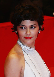 Audrey Tautou looked adorably youthful with her tousled short waves at the BIFF closing ceremony.