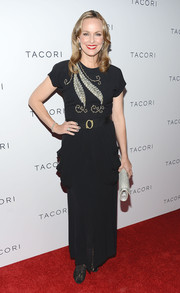 Melora Hardin chose a black evening dress with an embellished bodice for the Club Tacori event.