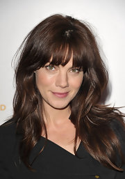 Michelle Monaghan glowed on the red carpet at the Children's Defense Fund with chestnut locks in a straight style.