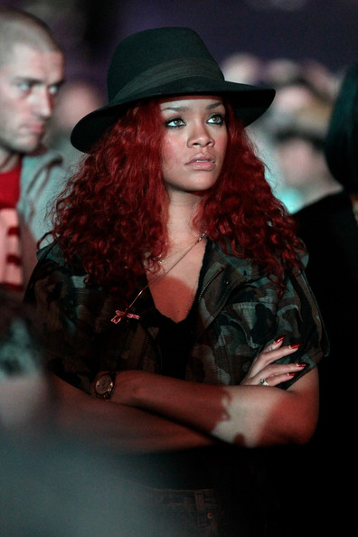 More Pics of Rihanna Fedora (1 of 5) - Dress Hats Lookbook - StyleBistro