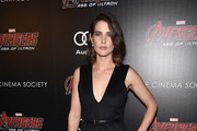 Cobie Smulders Little Black Dress