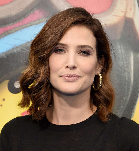 Cobie Smulders Medium Wavy Cut [the lego movie 2: the second part,the lego movie 2: the second part - arrivals,hair,face,hairstyle,eyebrow,chin,layered hair,beauty,brown hair,long hair,lip,cobie smulders,regency village theatre,california,westwood,warner bros. pictures,premiere]