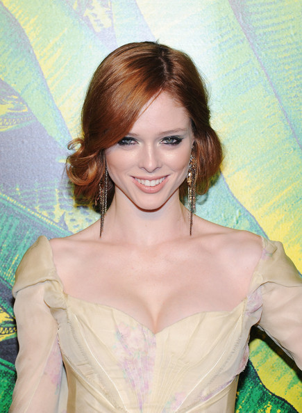 Coco Rocha Dangling Chain Earrings