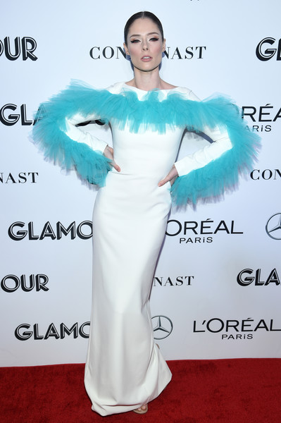 Coco Rocha Evening Dress []
