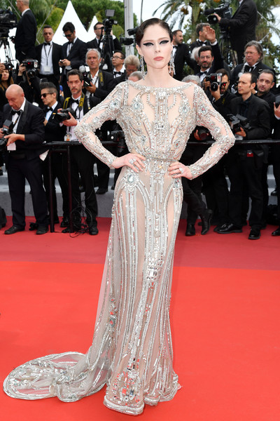 Coco Rocha Sheer Dress [film,red carpet,fashion model,carpet,dress,clothing,flooring,premiere,gown,fashion,hairstyle,coco rocha,once upon a time in hollywood,screening,fashion,red carpet,cannes,red carpet,the 72nd annual cannes film festival,premiere,karol\u00edna kurkov\u00e1,cannes film festival,red carpet,model,coco rocha,fashion,film,supermodel,premiere,harpers bazaar]