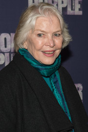 Ellen Burstyn wore her hair in a casual bob at the Broadway opening of 'The Color Purple.'