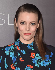 Gillian Jacobs was fresh-faced wearing this half-up hairstyle at the Comediennes: In Conversation event.