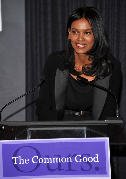 More Pics of Liya Kebede Medium Layered Cut (1 of 26) - Liya Kebede Lookbook - StyleBistro