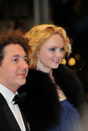 Smoky eye makeup gave Lily Cole a glam look during the 'Confession of a Child of the Century' premiere.