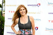 Connie Britton Denim Dress