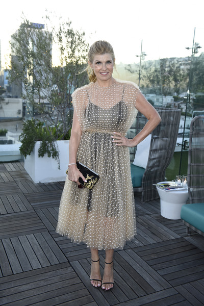 Connie Britton Sheer Dress
