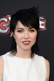 Carly Rae Jepsen looked oh-so-cool with her Joan Jett shag at the 'Grease: Live' FYC event.