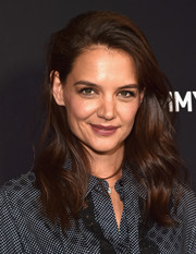 Katie Holmes was sexily coiffed with mussed-up waves during the 'Ray Donovan' screening.