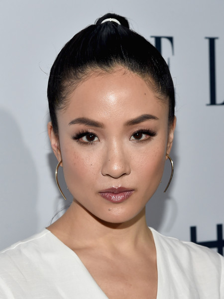 Constance Wu Gold Dangle Earrings