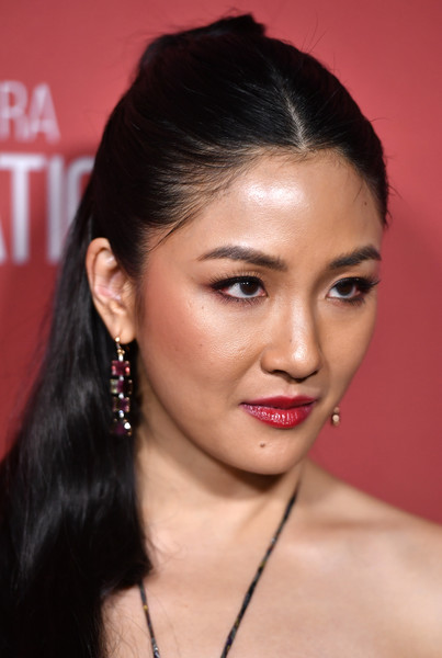 Constance Wu Red Lipstick