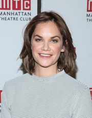 Ruth Wilson attended the 'Constellations' press preview wearing a casual-chic bob.