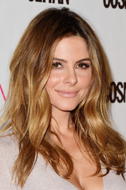 Maria Menounos was sexily coiffed with messy waves during Cosmopolitan's 50th birthday celebration.