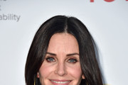 Courteney Cox Long Straight Cut