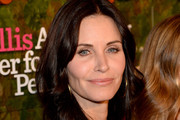 Courteney Cox Long Wavy Cut