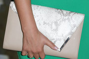 Courtney Galiano Leather Clutch