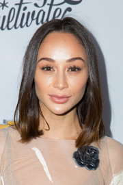 Cara Santana framed her face with a classic lob for the Create & Cultivate 100 event.
