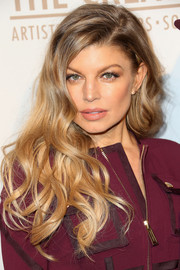 Fergie showed off a gorgeous wavy hairstyle at the Creators party.