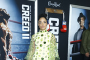 Tessa Thompson Beaded Dress
