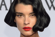 Crystal Renn Short Wavy Cut