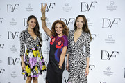 Diane Von Furstenburg Photo Call