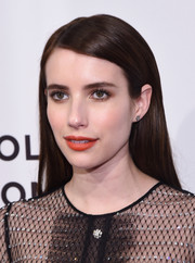 Emma Roberts sported a perfectly sleek hairstyle at the Tribeca Film Fest premiere of 'Dabka.'